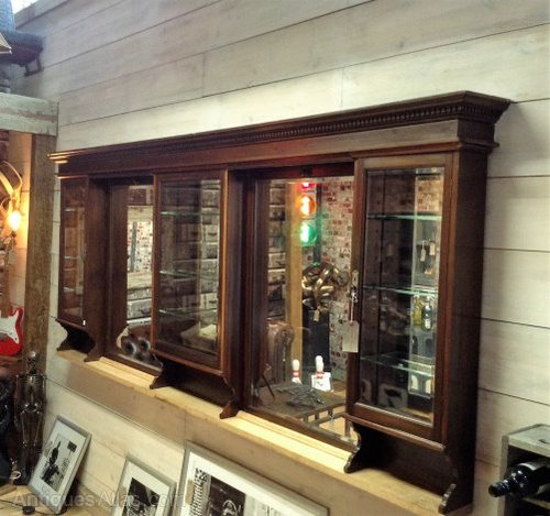 Victorian Barber Shop Mirrors And Cabinets Antiques Atlas