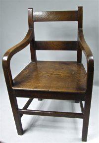19th Century Welsh Oak Chair - Antiques Atlas