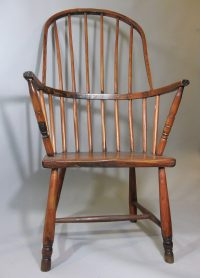 West Country Windsor Chair C. 1820 - Antiques Atlas