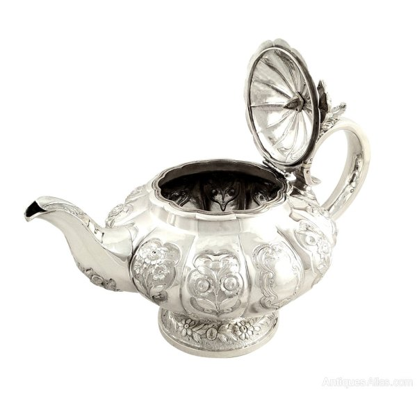Antiques Atlas - Antique William Iv Sterling Silver Teapot