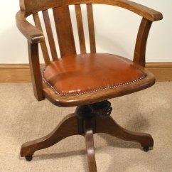 Swivel Chair For Home Office Patio Set 1930s Oak - Antiques Atlas
