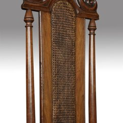 Antique Cane Seat Dining Chairs Johnson Chair Company 17th Century Walnut High Back - Antiques Atlas