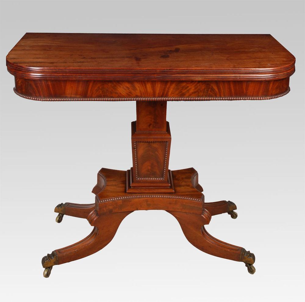 regency mahogany sofa table best chaise sleeper a tea - antiques atlas