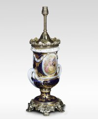 Antiques Atlas - French Sevres Style Table Lamp