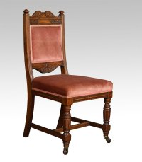 Set Of Ten Oak Dining Chairs - Antiques Atlas