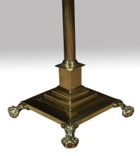 Antiques Atlas - Brass Standard Lamp