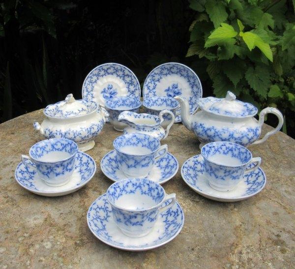 Antiques Atlas - Child' Complete Victorian Tea Set