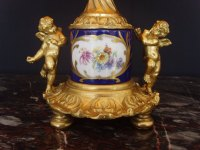 Antiques Atlas - Pair Limoges Porcelain And Ormolu Table Lamps