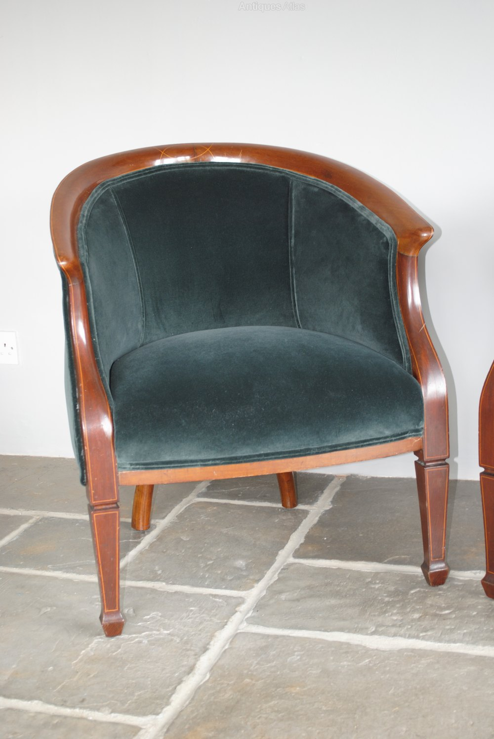 tub chair grey master gym fitness pair of antique edwardian chairs, armchairs - antiques atlas
