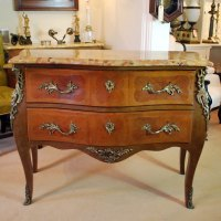 French Bombe Chest Of Drawers (a11291) - Antiques Atlas