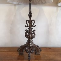 Antiques Atlas - Pair Of Wrought Iron Table Lamps