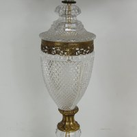 Antiques Atlas - Stunning Cut Glass Table Lamp