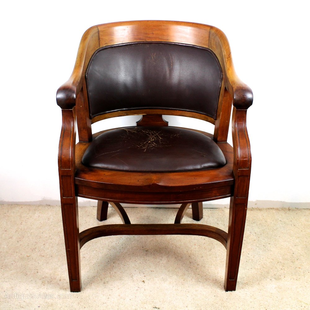 comfy desk chairs kids chair and table set victorian walnut bow back wide arm - antiques atlas