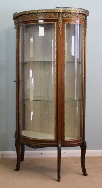 Antique Vitrine Glass Display Cabinet - Antiques Atlas