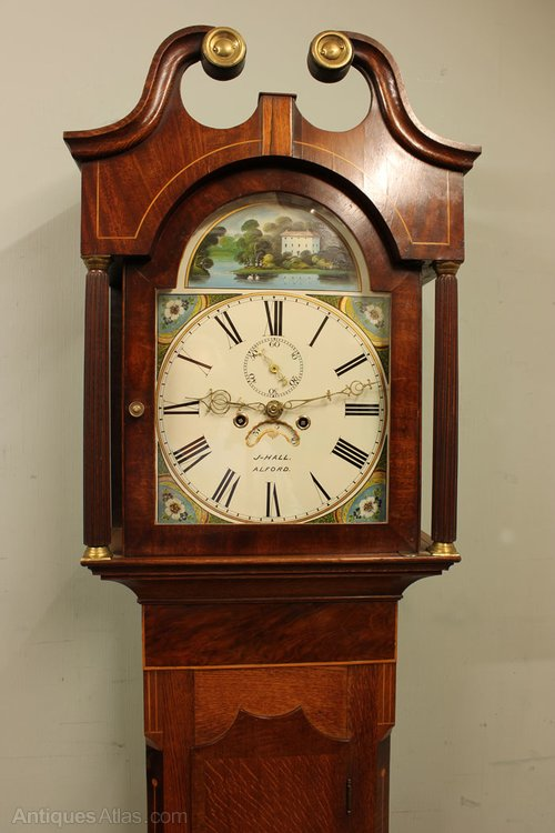 Antique Longcase Clock Antique Grandfather Clock - Resume Examples