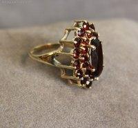Vintage Garnet Rings