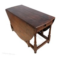 Antique Oak Drop Leaf Table C1760