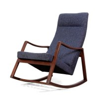 Antiques Atlas - Mid Century Teak Rocking Chair Danish C1960