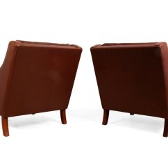 Revolving Chair Thames Seat Covers Argos Antiques Atlas Pair Of Danish Leather Chairs By Photos