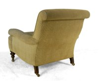 Victorian Antique Upholstered Armchair - Antiques Atlas