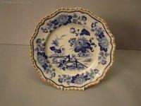 Antiques Atlas - Set Georgian Blue And White Plates / Bowls