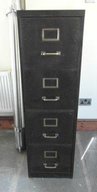 Antiques Atlas - Vintage Metal Filing Cabinet