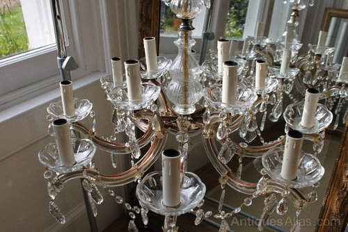 12 Arm Marie Therese French Chandelier