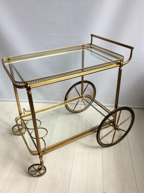 Vintage Bar Cart Trolley