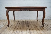 6 Seater Antique Parquetry French Oak Dining Table ...