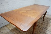 Antique French Oak Parquetry Dining Table - Antiques Atlas