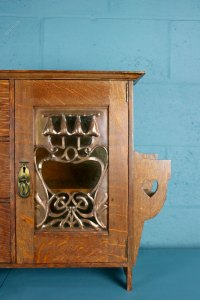 Arts And Crafts Oak Cabinet By Shapland And Petter ...
