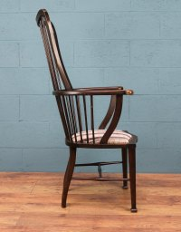 High Back Windsor Chair - Antiques Atlas
