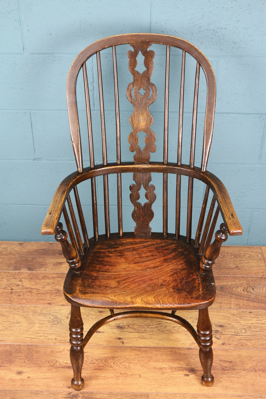 z shaped high chair sheepskin covers canada splat back windsor - antiques atlas