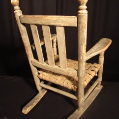 Antique Rocking Chairs For Sale Revolving Chair Manufacturers In Ulhasnagar 19th C American 'shaker' Child's - Antiques Atlas