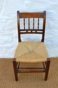 Set Of Six 19thC Farmhouse Dining Chairs - Antiques Atlas