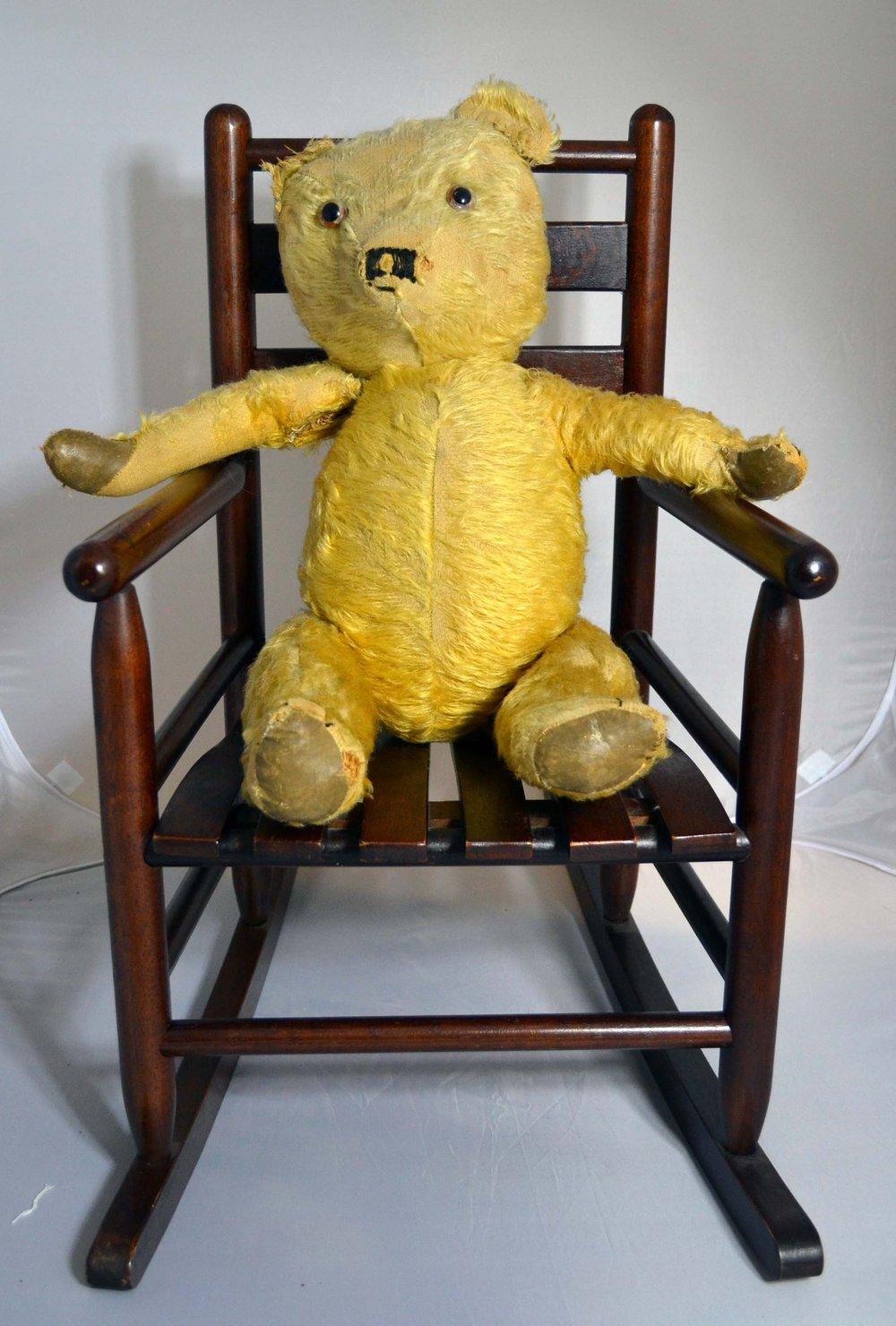 Antiques Atlas  Teddy Bears Rocking Chair
