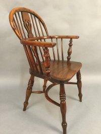 Fine Yew Wood Windsor Chair Rockley Maker - Antiques Atlas