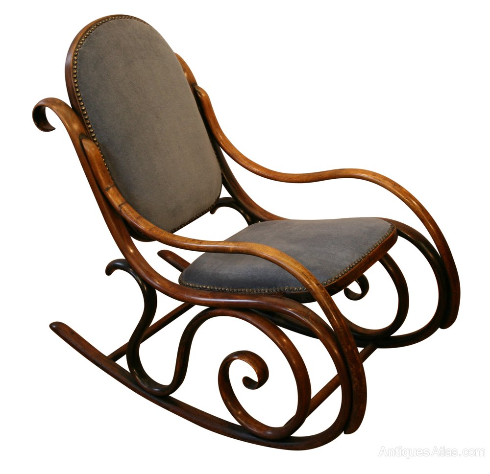 A Victorian Bentwood Rocking Chair  Antiques Atlas