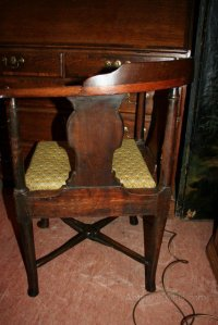 Antique Georgian Corner Chair - Antiques Atlas