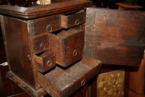 Antique Oak Spice Cabinet  Antiques Atlas