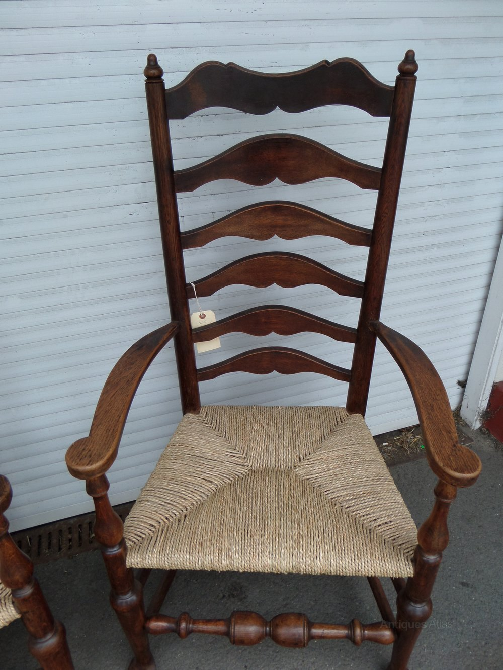 Ladder Back Chairs  Antiques Atlas