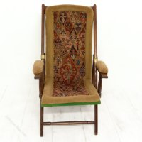 Victorian Campaign Chair - Antiques Atlas