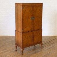 Antiques Atlas - Walnut Cocktail Cabinet
