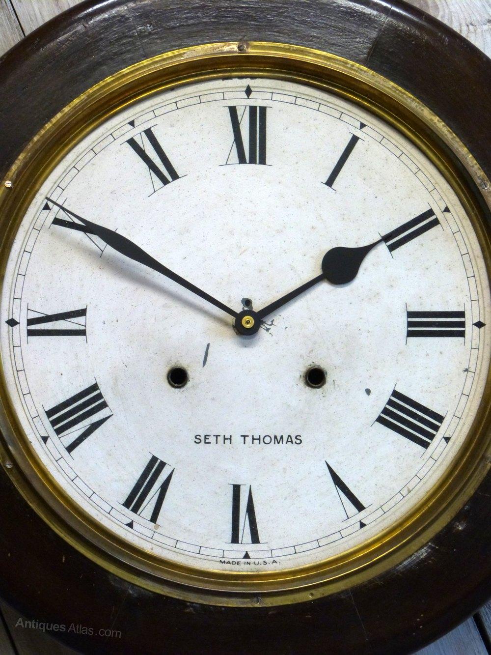 Antiques Atlas  Seth Thomas Quartz Wall Clock