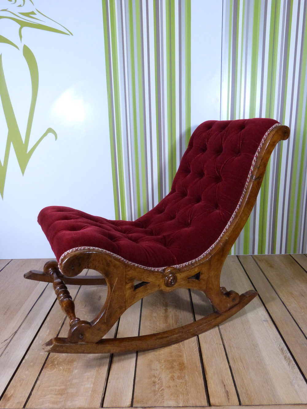 antique rocking chairs for sale pottery barn irving leather chair reviews santa's sleigh - antiques atlas