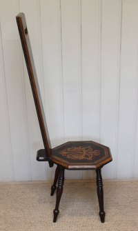 Beechwood Spinning Chair - Antiques Atlas