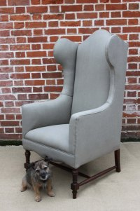 Edwardian Wing Armchair - Antiques Atlas