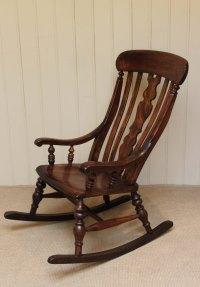 Farmhouse Rocking Chair - Antiques Atlas