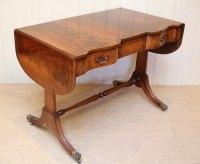 Mahogany Drop Leaf Sofa Table