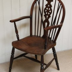 Four Chair Dining Set Battery Operated Baby Swing Of Wheelback Windsor Chairs - Antiques Atlas